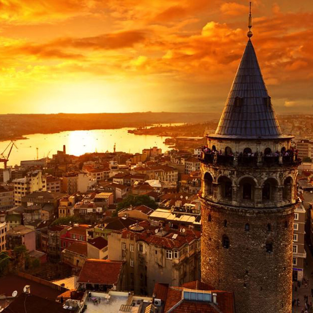 Стамбул Галатська вежа