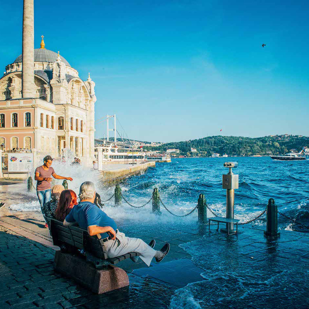 Стамбул набережна Ортакой