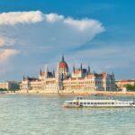 Будапешт, Дунай, кораблик і парламент